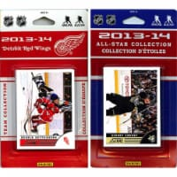 CandICollectables REDWINGS13 NHL Detroit Red Wings Licensed 2013-14 Score Team Set & All-Star