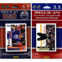 CandICollectables OILERS13 NHL Edmonton Oilers Licensed 2013-14 Score Team Set & All-Star Set