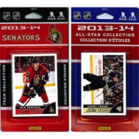 CandICollectables SENATORS13 NHL Ottawa Senators Licensed 2013-14 Score Team Set & All-Star S