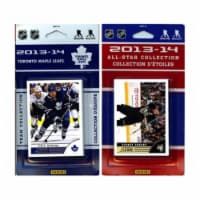 CandICollectables MAPLELEAFS13 NHL Toronto Maple Leafs Licensed 2013-14 Score Team Set & All- - 1