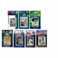 CandICollectables MARINERS714TS MLB Seattle Mariners 7 Different Licensed Trading Card Team S - 1