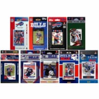 CandICollectables BILLS914TS NFL Buffalo Bills 9 Different Licensed Trading Card Team Sets