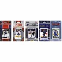 CandICollectables BLUES514TS NHL St. Louis Blues 5 Different Licensed Trading Card Team Sets - 1