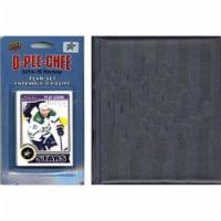 CandICollectables 14STARSTS NHL Dallas Stars 2014 O-Pee-Chee Team Set & A Storage Album