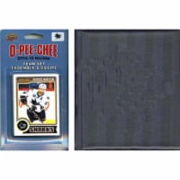 CandICollectables 14SHARKSTS NHL San Jose Sharks 2014 O-Pee-Chee Team Set & A Storage Album