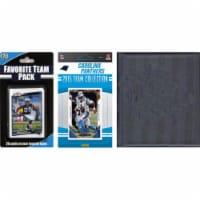 CandICollectables 2015PANTHERSTSC NFL Carolina Panthers Licensed 2015 Score Team Set & Favori