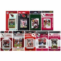 CandICollectables ARIZCARD915TS NFL Arizona Cardinals 9 Different Licensed Trading Card Team