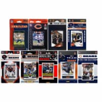 CandICollectables BEARS915TS NFL Chicago Bears 9 Different Licensed Trading Card Team Sets