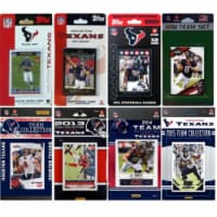 CandICollectables TEXANS815TS NFL Houston Texans 8 Different Licensed Trading Card Team Sets - 1