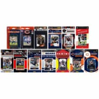 C & I Collectables BEARS1317TS NFL Chicago Bears 13 Different Licensed Trading Card Team Sets - 1