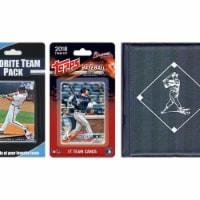 C & I Collectables BRAVESTSC18 MLB Atlanta Braves Licensed 2018 Topps Team Set & Favorite Pla - 1