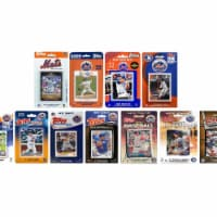 C & I Collectables METS1118TS 2018 MLB New York Mets 11 Different Licensed Trading Card Team - 1