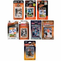 C & I Collectables ORIOLES818TS 2018 MLB Baltimore Orioles 8 Different Licensed Trading Card