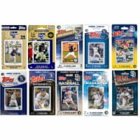 C & I Collectables PADRES1018TS 2018 MLB San Diego Padres 10 Different Licensed Trading Card