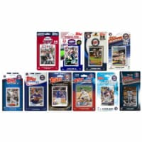 C & I Collectables TWINS1018TS 2018 MLB Minnesota Twins 10 Different Licensed Trading Card Te