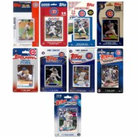 C&I Collectables CUBS919TS MLB Chicago Cubs 9 Different Licensed Trading Card Team Sets - 1