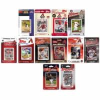 C&I Collectables DBACKS1219TS MLB Arizona Diamondbacks 12 Different Licensed Trading Card Tea