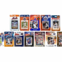 C&I Collectables METS1219TS MLB New York Mets 12 Different Licensed Trading Card Team Sets - 1