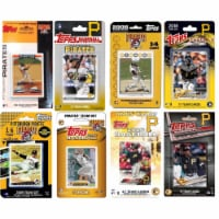 C&I Collectables PIRATES819TS MLB Pittsburgh Pirates 8 Different Licensed Trading Card Team S