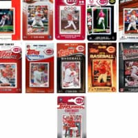 C&I Collectables REDS1119TS MLB Cincinnati Reds 11 Different Licensed Trading Card Team Sets
