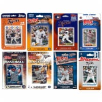 C&I Collectables TIGERS818TS MLB Detroit Tigers 8 Different Licensed Trading Card Team Sets