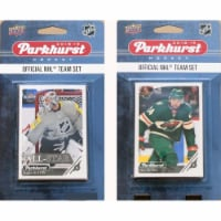 C&I Collectables 18WILDTS NHL Minnesota Wild 2018-19 Parkhurst Team Set & an All-star set