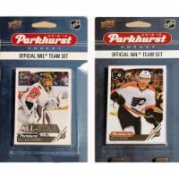 C&I Collectables 18FLYERSTS NHL Philadelphia Flyers 2018-19 Parkhurst Team Set & an All-star