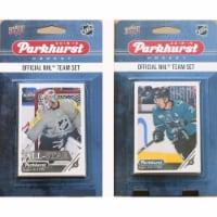 C&I Collectables 18SHARKSTS NHL San Jose Sharks 2018-19 Parkhurst Team Set & an All-star set