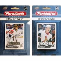 C&I Collectables 18SENATORSTS NHL Ottawa Senators 2018-19 Parkhurst Team Set & an All-star se