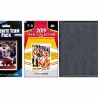 C&I Collectables 2019CHIEFSTSC NFL Kansas City Chiefs Licensed 2019 Score Team Set & Favorite