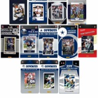 C&I Collectables COWBOYS1219TS NFL Dallas Cowboys 12 Different Licensed Trading Card Team Set - 1