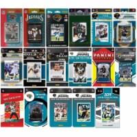 C&I Collectables JAGUARS1619TS NHL Jacksonville Jaguars 16 Different Licensed Trading Card Te - 1