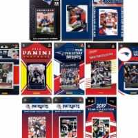 C&I Collectables PATRIOTS1119TS NHL New England Patriots 11 Different Licensed Trading Card T - 1