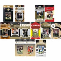 C&I Collectables SAINTS1419TS NHL New Orleans Saints 14 Different Licensed Trading Card Team - 1