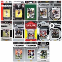 C&I Collectables RAIDERS1319TS NHL Oakland Raiders 13 Different Licensed Trading Card Team Se