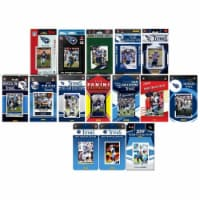 C&I Collectables TITANS1519TS NHL Tennessee Titans 15 Different Licensed Trading Card Team Se