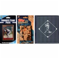C&I Collectables 2020YANKEESTSC MLB New York Yankees Licensed 2020 Topps Team Set & Favorite