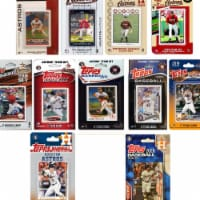 C&I Collectables ASTROS1120TS MLB Houston Astros 11 Different Licensed Trading Card Team Set