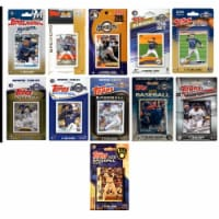 C&I Collectables BREWERS1120TS MLB Milwaukee Brewers 11 Different Licensed Trading Card Team