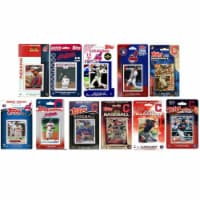 C&I Collectables INDIANS1120TS MLB Cleveland Indians 11 Different Licensed Trading Card Team - 1