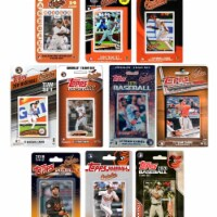 C&I Collectables ORIOLES1020TS MLB Baltimore Orioles 10 Different Licensed Trading Card Team - 1
