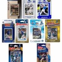 C&I Collectables ROYALS920TS MLB Kansas City Royals 9 Different Licensed Trading Card Team Se - 1