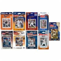 C&I Collectables TIGERS919TS MLB Detroit Tigers 9 Different Licensed Trading Card Team Set