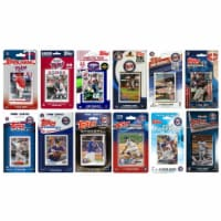 C&I Collectables TWINS1230TS MLB Minnesota Twins 12 Different Licensed Trading Card Team Set