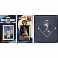 C & I Collectables 2010CUBSTSC MLB Chicago Cubs Licensed 2010 Topps Team Set and Favorite Pla