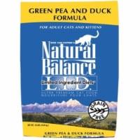 Natural Balance Pet Foods NA00510 Duck & Green Pea Cat 10 lbs.