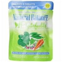 Natural Balance Pet Foods 723633531030 Natural Balance Platefulls Chicken & Giblets-24pk