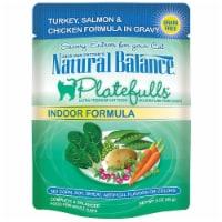 Natural Balance Pet Foods 723633531047 Natural Balance Platefulls Indoor Turkey Salmon-24pk - 24