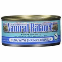 Natural Balance Pet Foods 723633532266 5.5 ozNatural Balance Tuna with Shrimp Formula Canned