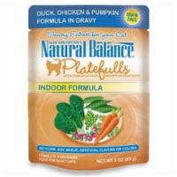 Natural Balance Pet Foods 723633540087 3oz Platefulls Indoor Duck, Chicken-24pk